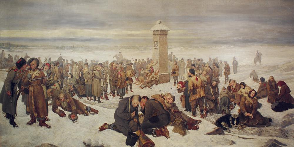 Александр Сохачевский. Прощание с Европой. 1894