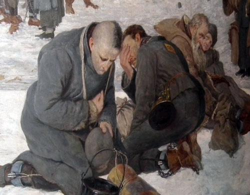 Александр Сохачевский. Прощание с Европой. 1894 фрагмент