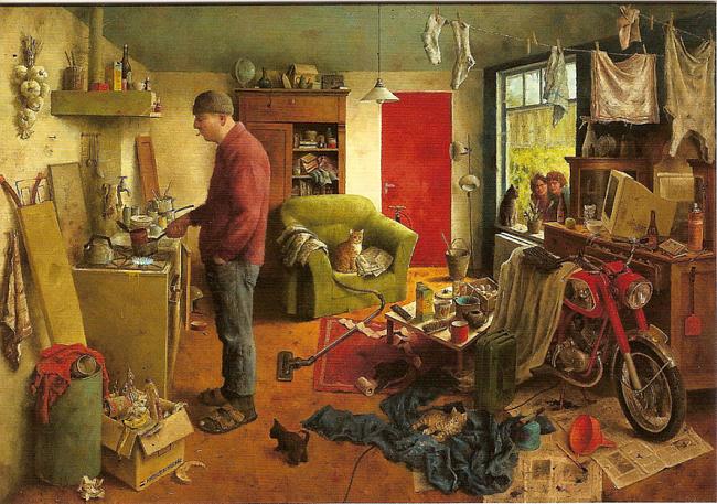 Домашнее хозяйство мужчины (Mannenhuishouding)
