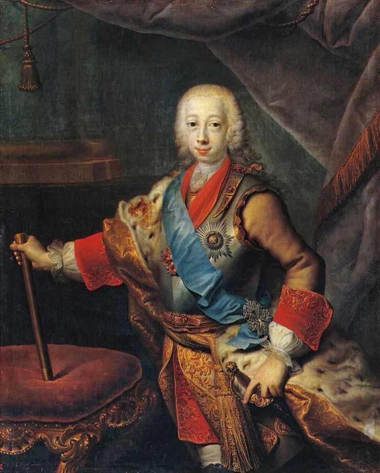 Грот Георг. Петр III Федорович (Карл Петр Ульрих),1743