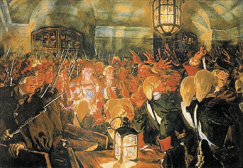 9- Воцарение Елизаветы Петровны 25 ноября 1741 года. 1903 г.
