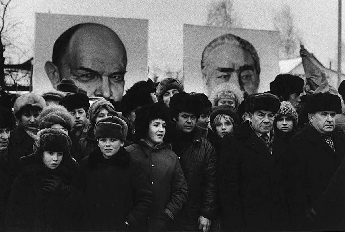 Валерий Щеколдин. Митинг Московская обл. 5 декабря 1981 г.
