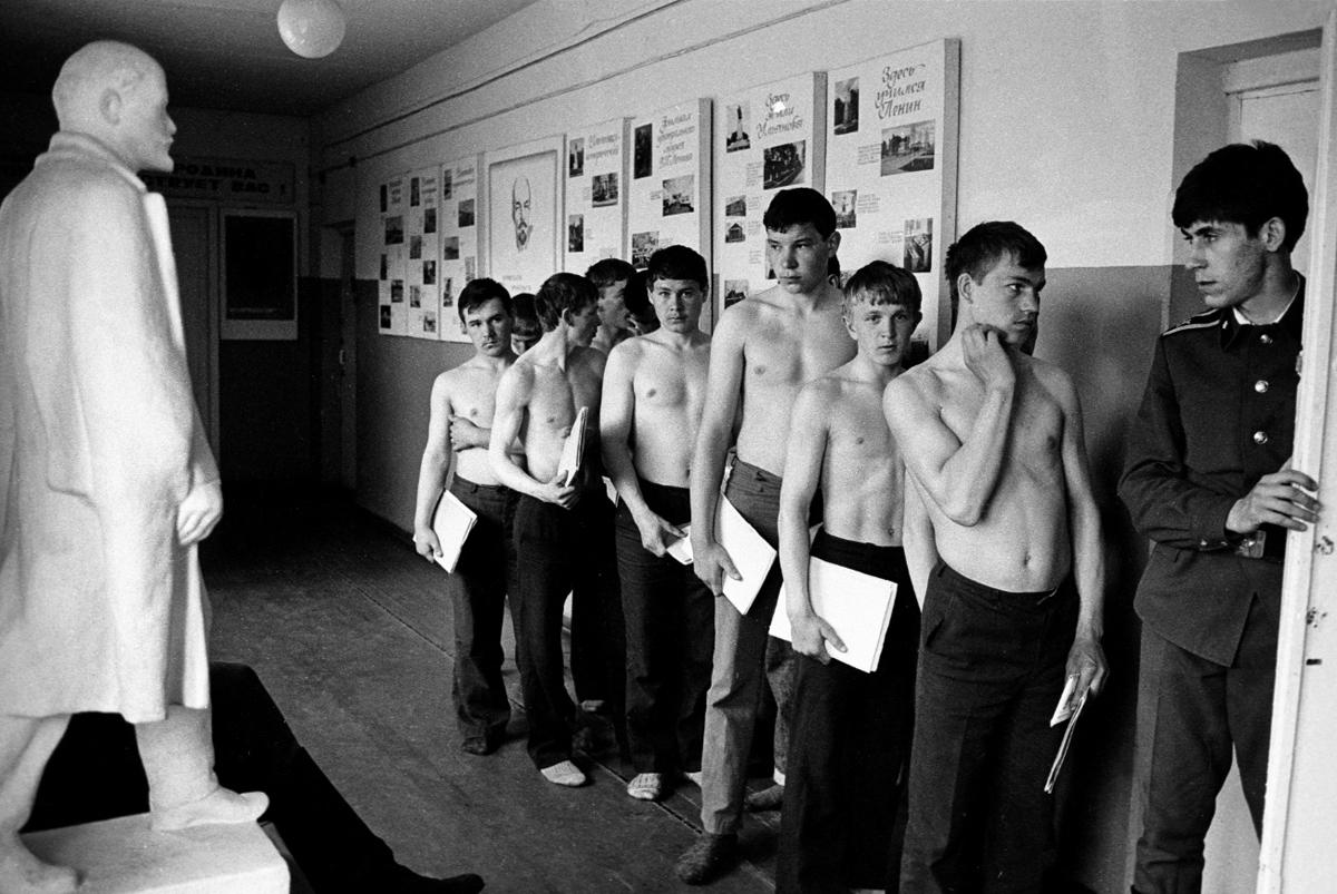 Валерий Щеколдин. ПРизывники Ульяновская обл 1981