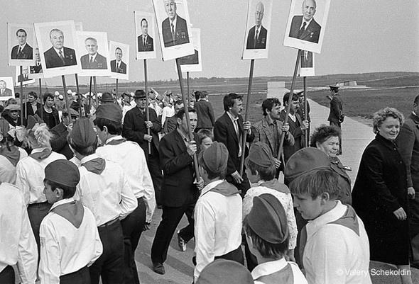 4-Валерий Щеколдин. Дубосеково, Московская обл. 8 мая, 1984