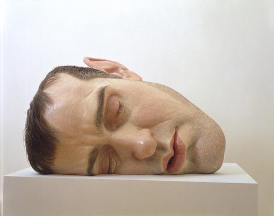 Ron Mueck, Mask II, 2000