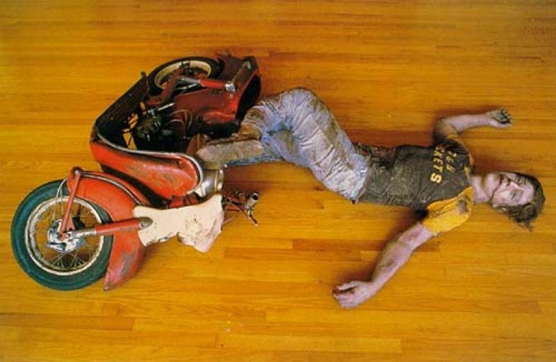 Дуэйн Хансон. Авария на мотоцикле. 1967