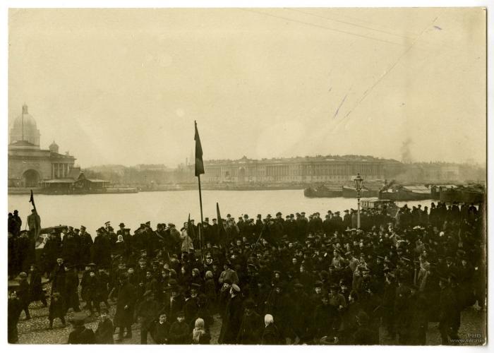СПб манифестация 18.10.1905