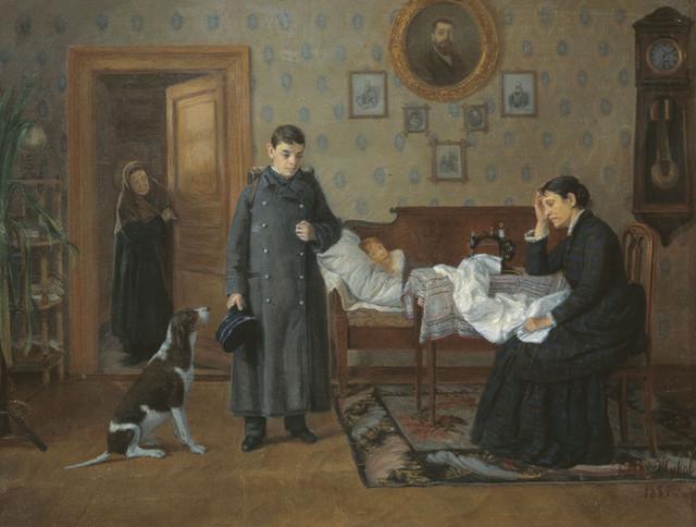 41 Жуков Д.Е.  Провалился. 1885.