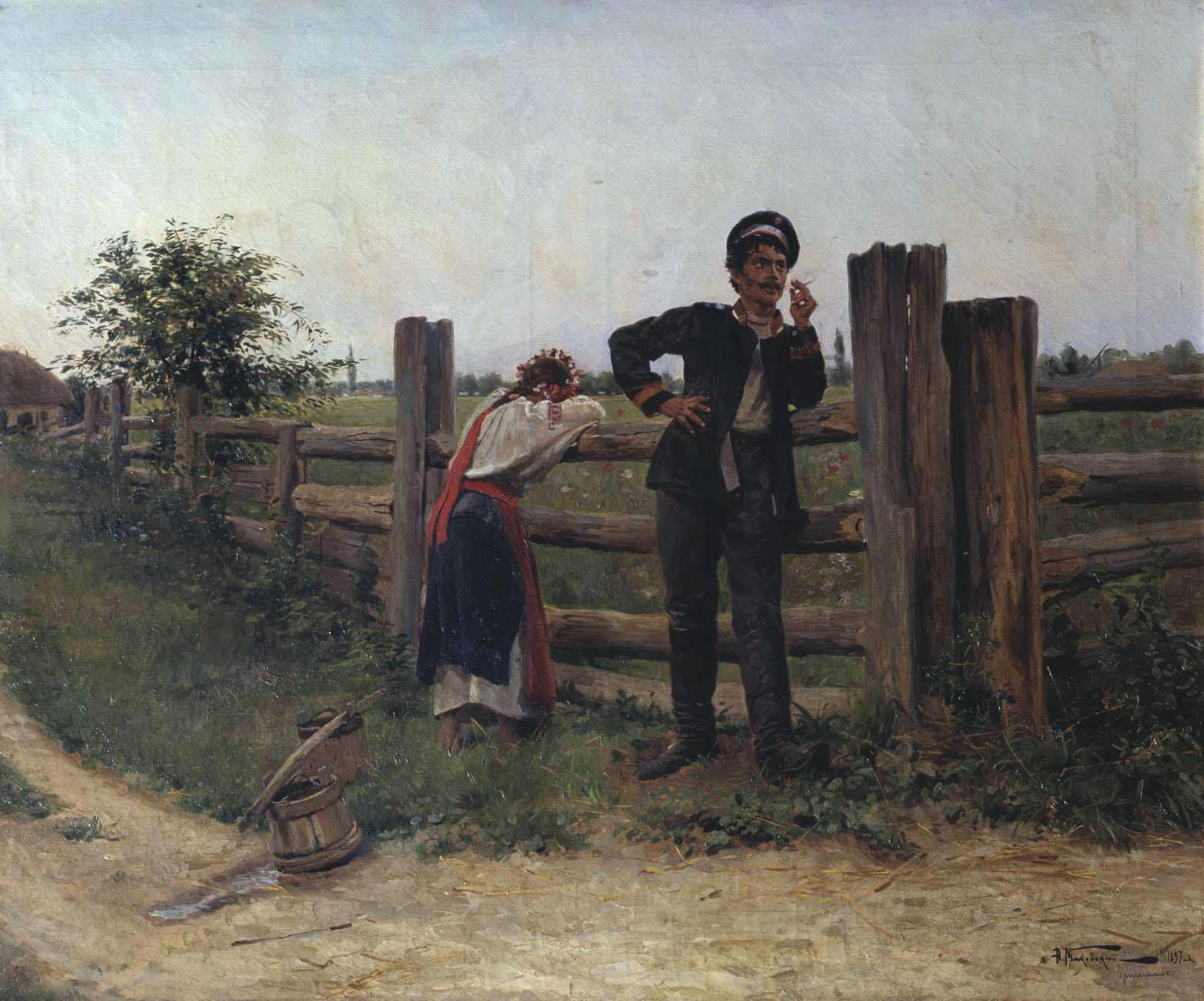 Владимир Маковский. Утомленный...Ею. 1899 г.