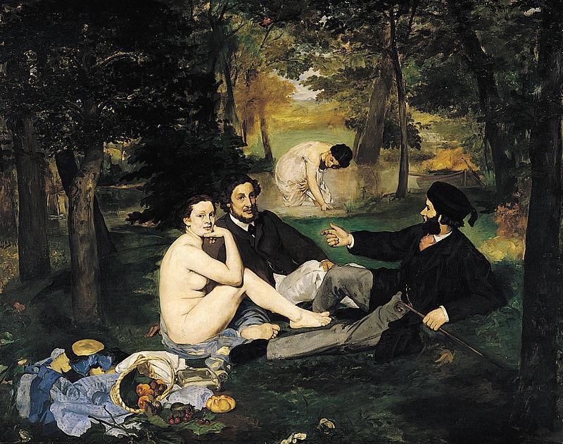 Édouard_Manet_-_Le_Déjeuner_sur_l'herbe 1863