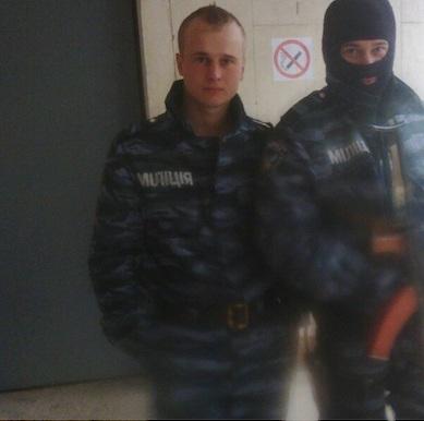 Николай Козлов 4 (в форме Беркута)
