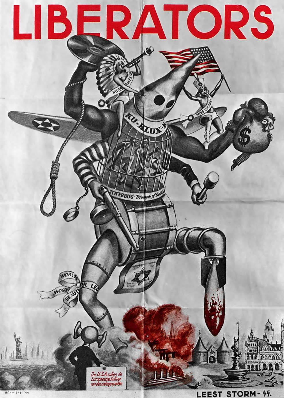 Liberators 1944NaziPropagandaPoster