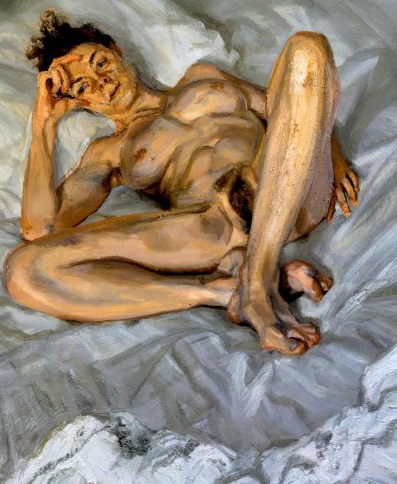 1995-Lucian-Freud-Naked-Portrait-Bella
