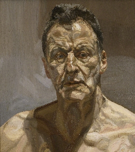 Reflection (Self-portrait), 1985