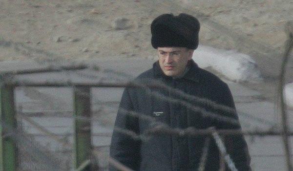 Ходорковский в ушанке