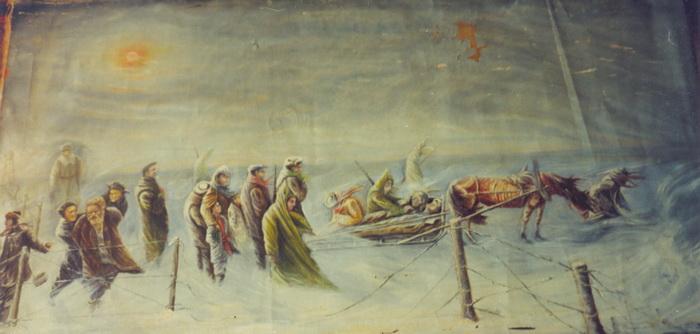 Георгий Черкасов. В последний путь. УХТПЕЧЛАГ, 1938 год.  1960-е гг