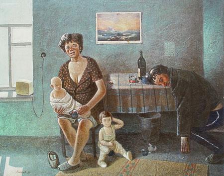 Василий Колотев. Девятый вал. 1979