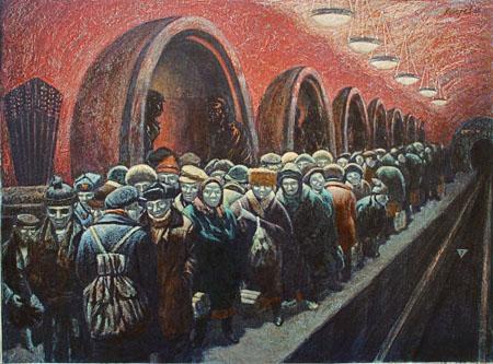 Василий Колотев. Час Пик. 1986