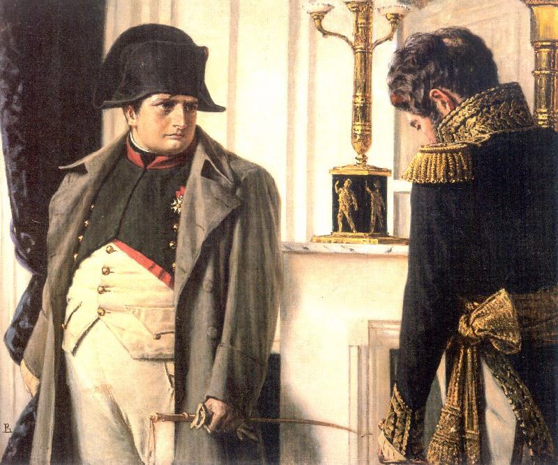 Василий Верещагин. Наполеон и маршал Лористон (Мир во что бы это ни стало!). 1899-1900 гг.
