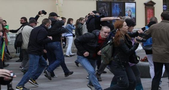12.6.12 Нападение на ЛБГТ активистов в СПб
