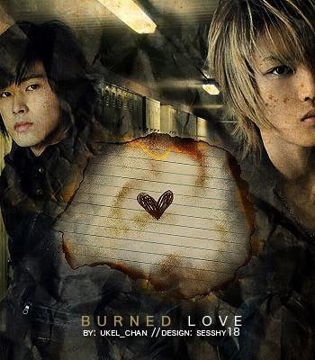 burned love banner