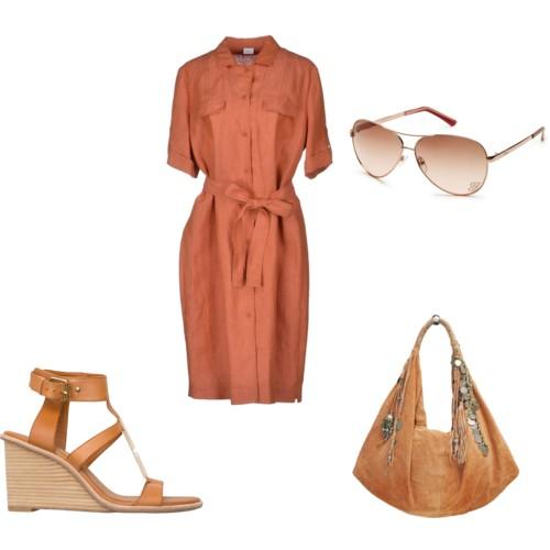 платье-сафари 104