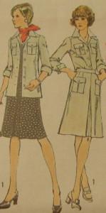 платье-сафари 12