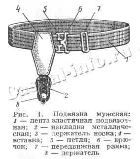 подвязка для носков 1