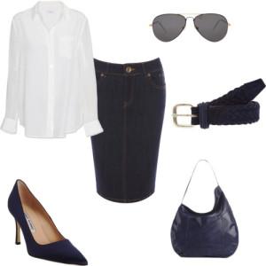 джинсовая юбка 4