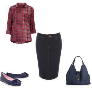 джинсовая юбка 3