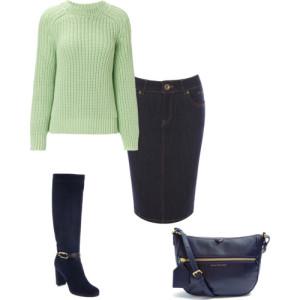 джинсовая юбка 1