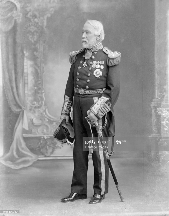 005-08. Контр-адмирал Элджернон Фредерик Руа де Хорси