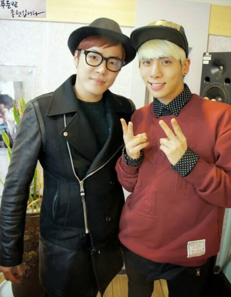 [PHOTO] 140305 Jonghyun's MBC Blue Night Radio Site Update
