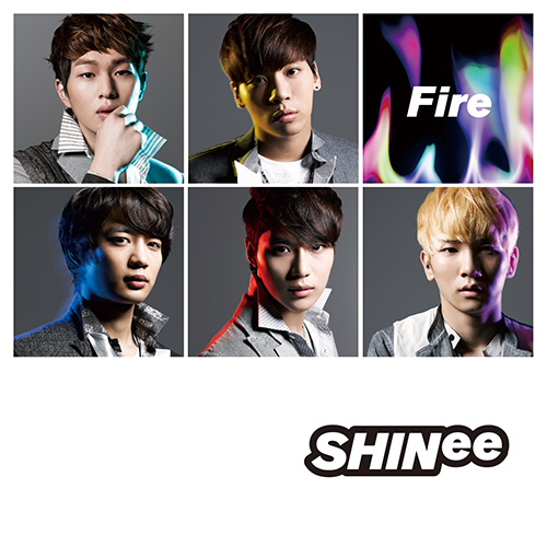 shinee fire squares