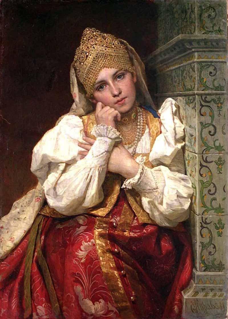 0a41a91cc213 Русский женский платок – история, традиции, современность ...