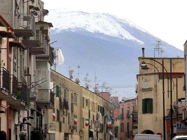 С первым снегом...в Неаполе