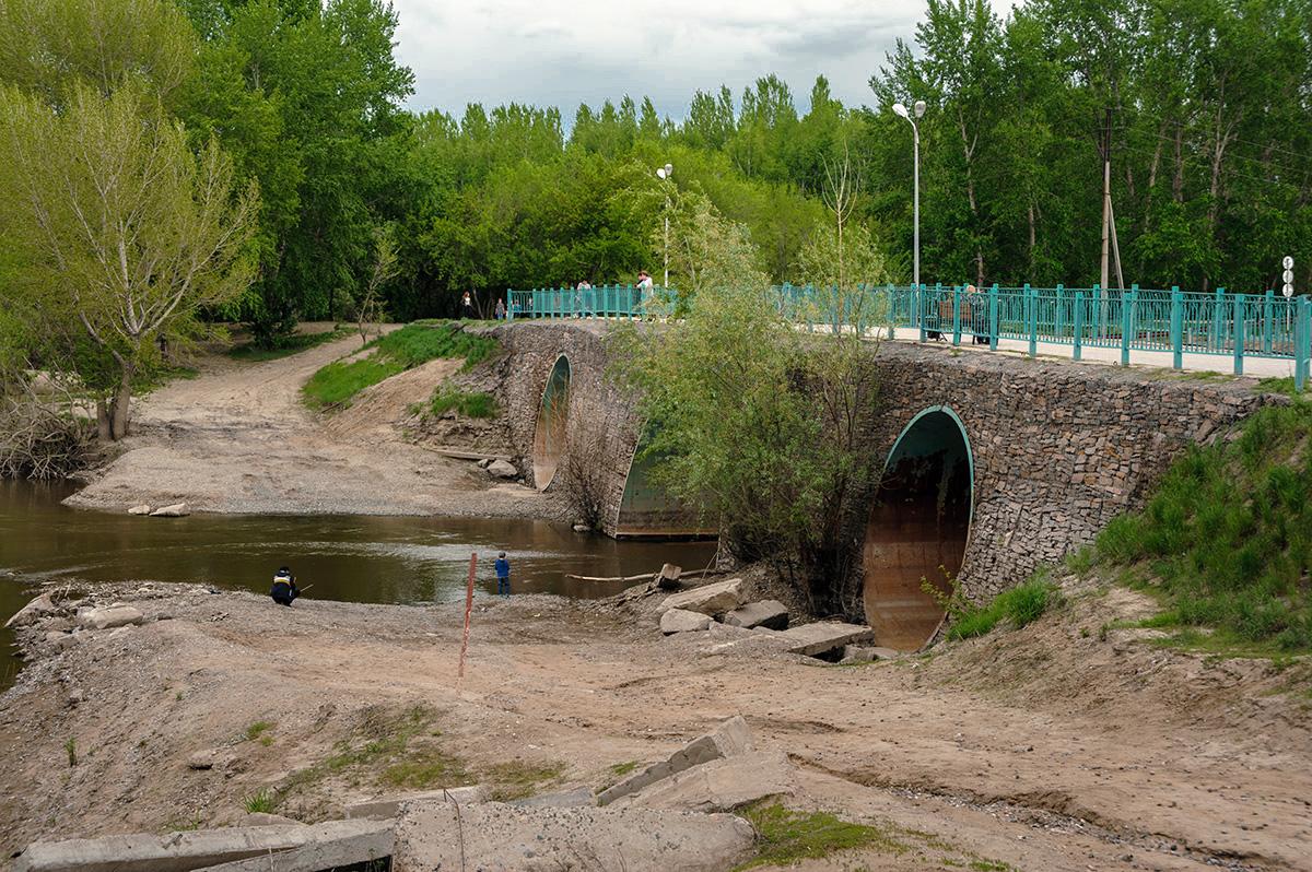 Мост через р. Усолка