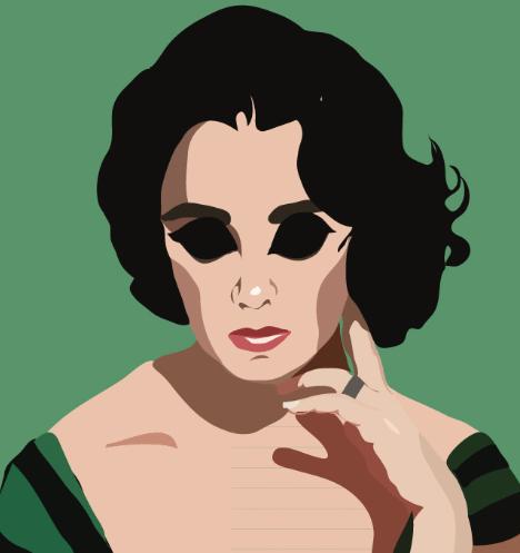 женский портрет без глаз
