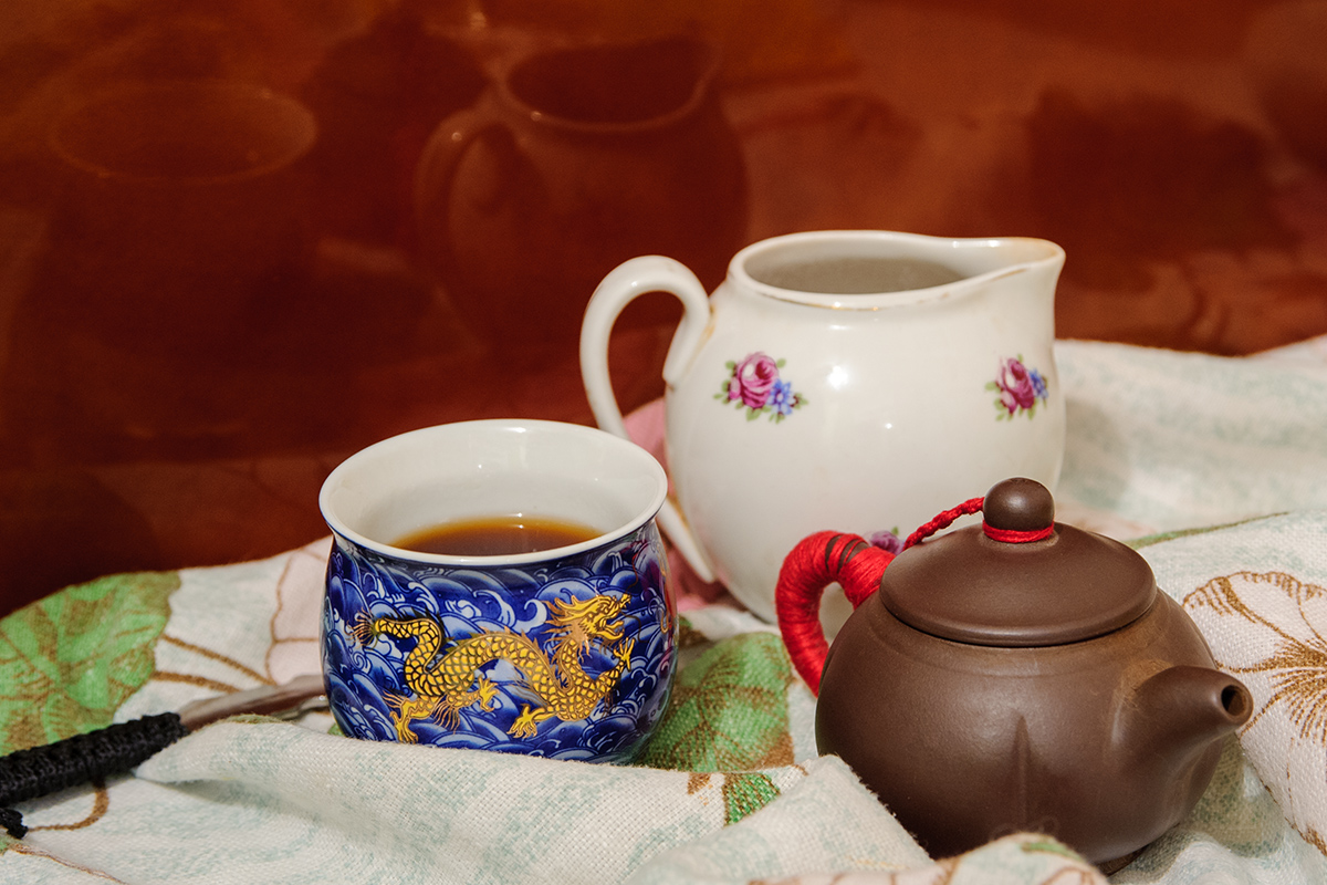 натюрморт, чай