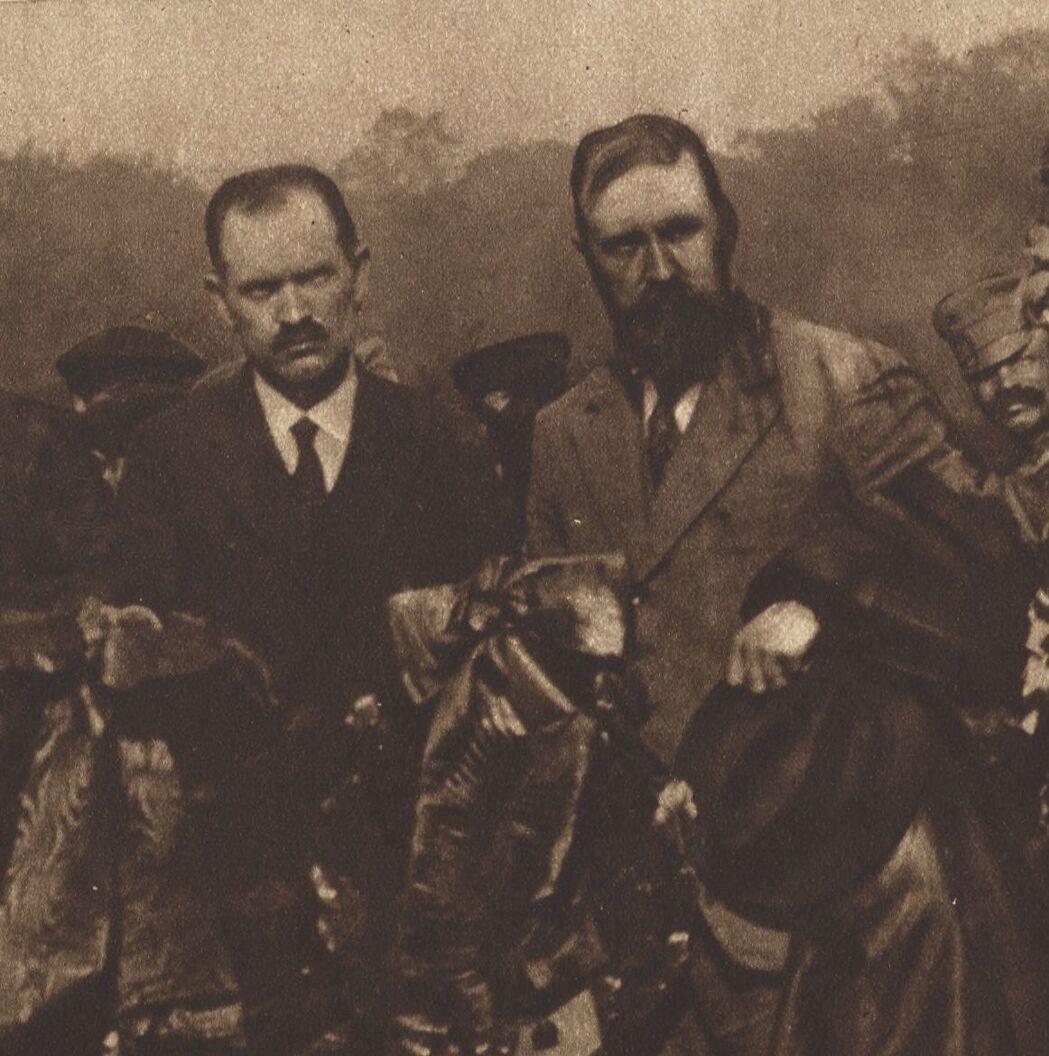 Бородатый Ленин. Ленин и Троцкий 1917