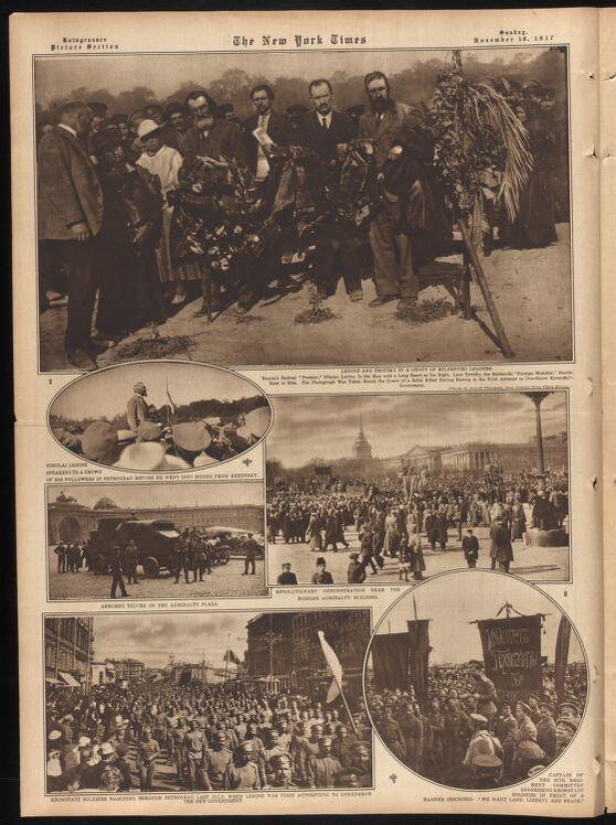 Нью-Йорк Таймс, 18 ноября 1917 г.