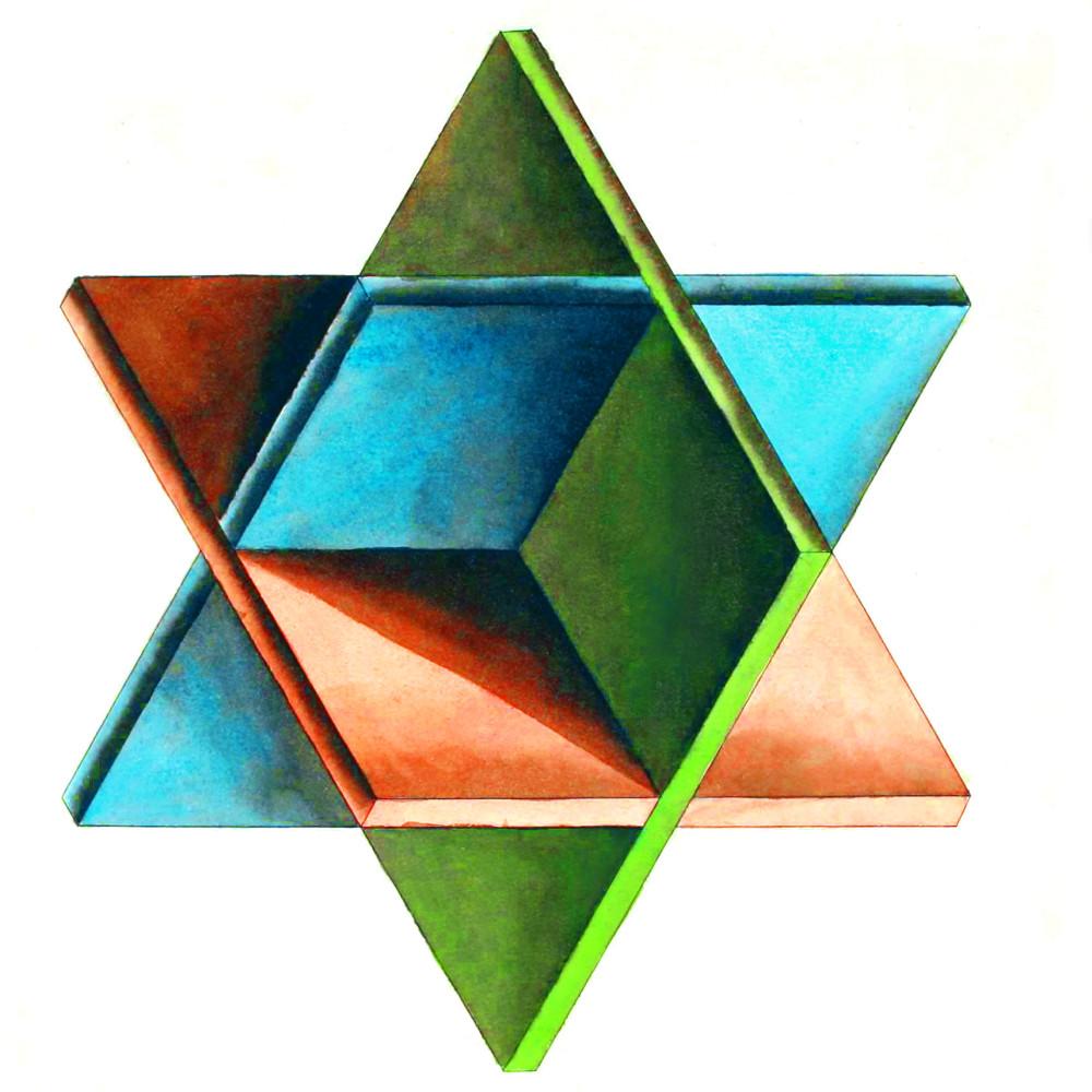 Многоэтажка. Масонская многоэтажка.  Шестиконечная звезда. Строительство. Три плоскости. Трехмерное пространство (+бесконечность). Гексаграмма