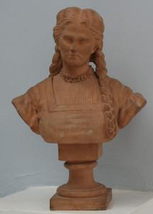 М.Н. Анненкова. Портрет Х.Нельсон в роли Маргариты. 1873