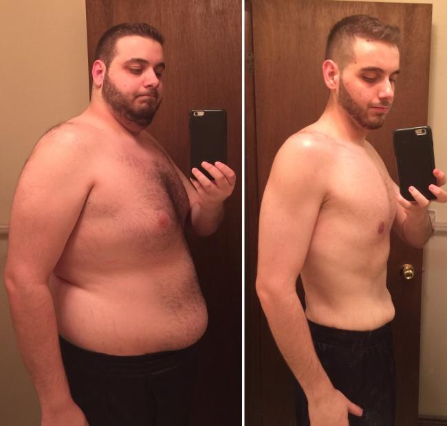 Скинуть лишний вес мужчине