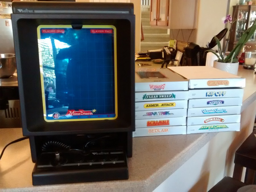 Vectrex and Game Boxes