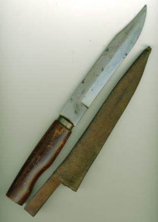 Историческое - Нож Труд Вача.