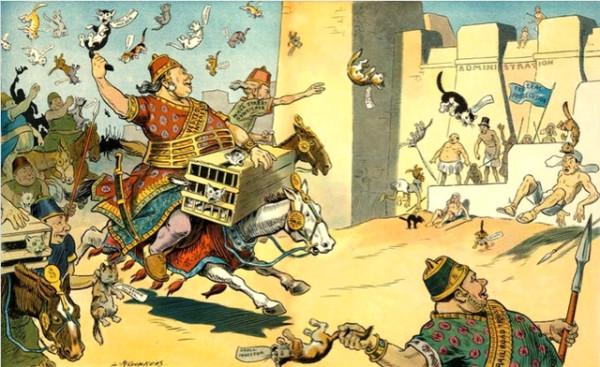 Однажды персы сходили в психическую атаку