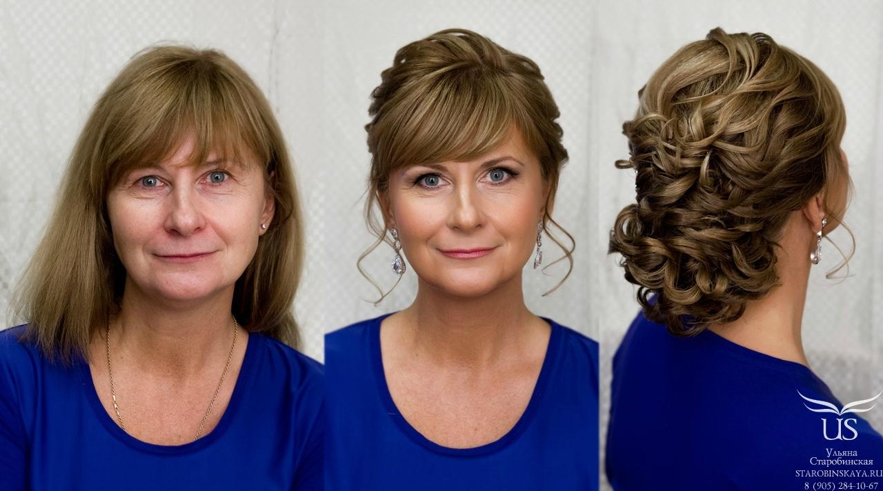 Причёски для мамы