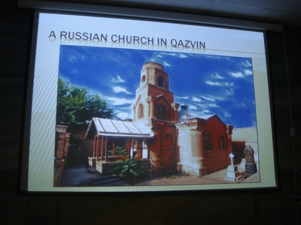 Russian church in Iran