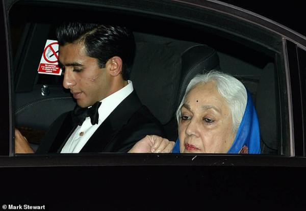 Padmanabh Singh и его бабушка Rajmata Padmini Devi
